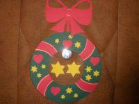 papírová vánoční ozdoba