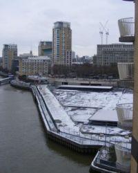Canary Wharf  Thames Path