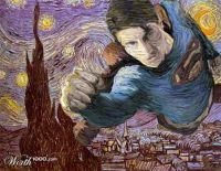 Van Gogh's Superman