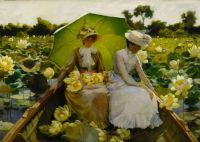 Charles Courtney Curran - Nénuphars (1888)