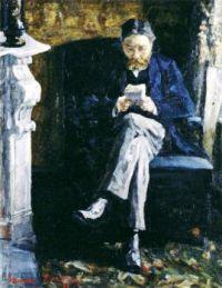 1881  James Ensor  Portrait of the Artists Father