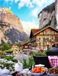 Delightful Swiss Town