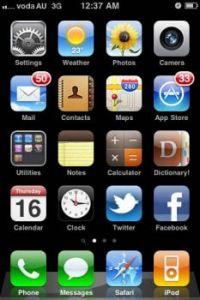 Iphone Apps and Icons
