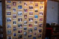 Memorial quilt of Andy Anderson for his family