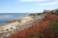 Rocky beach seen from the Marginal Way