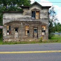 Old building in Upson, Wisconsin