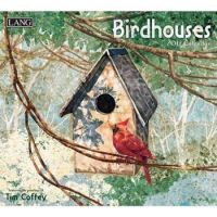 LANG 2017 Wall Calendar Birdhouses