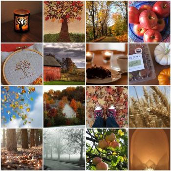 Fall favorites mosaic by mercurialmagpie on flickr