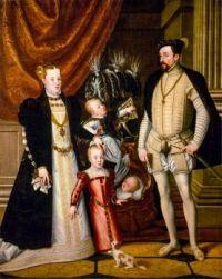 Maximilian II, His Wife and Three Children