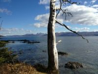 Southern Skye looking to mainland Scotland.