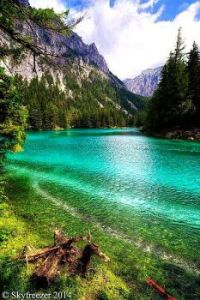 The Green Lake in Styria Austria