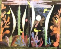 for Trish-Landscape with Yellow Birds by Paul Klee