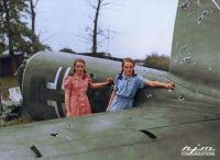 unnamtail section of a Heinkel He 111P WW2