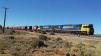 Train at Mannahill SA