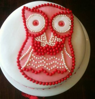 Owl Mods B'day cake to ME