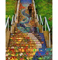 Steps in San Francisco