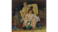 Egon Schiele's The Family, 1918