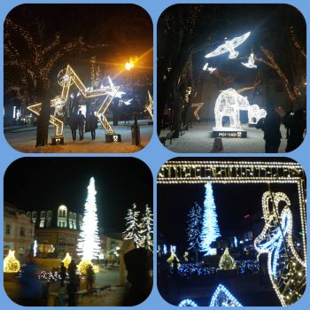 Vánocní výzdoba 2019 - Poprad / Christmas Decoration