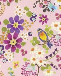 Floral with Bird
