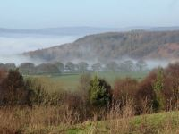 Valley mist, Derbyshire