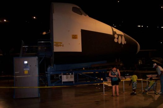 Space Shuttle simulator at Air Force Museum in Dayton, OH