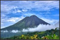 ~Arenal Volcano. Rare clear View.~