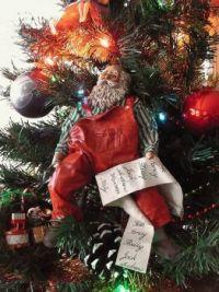 Santa in the Tree