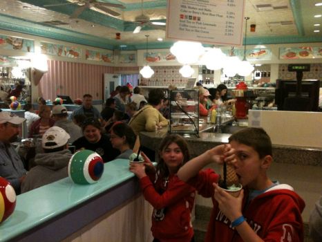 Ice Cream Shop Disney 2013