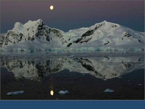 Nightfall in the Antarctic