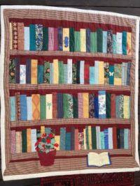 Work of Art - patchwork bookcase