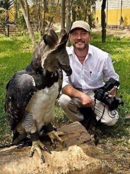 This is a Harpy Eagle