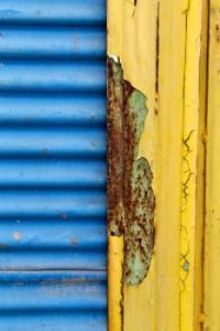 Rust - Blue and Yellow