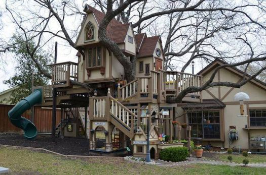 This is just the treehouse