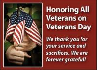 For our Veterans
