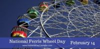 Today Is National Ferris Wheel Day!!