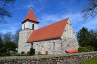 The village church Blankenburg / Berlin