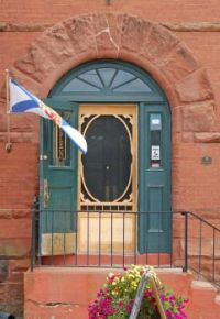 Annapolis Royal Door