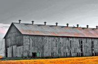 S Indiana Barn  by Kent Mandrell