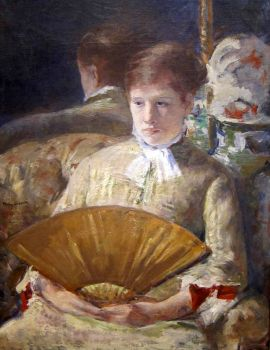 Mary Cassatt - Miss Mary Ellison (1880)