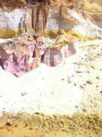 cliffs along rainbow beach Australia