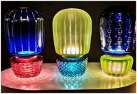 Mix&Match Coloured Glass Accent Lamps