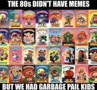 Remember Garbage Pail Kids