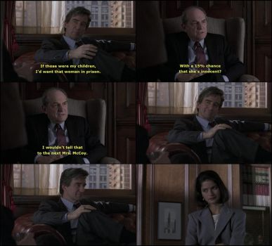 This is one of my favourite Jack McCoy/Claire Kincaid moments of all time.
