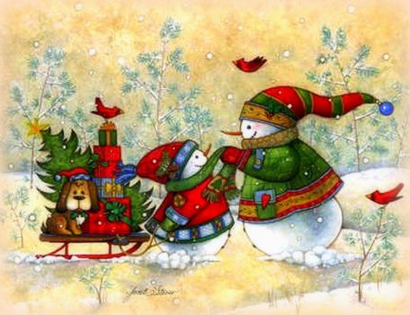 Winter Happy Holiday Delivery Xmas New Year Christmas Paintings Weird Things People Wears Dog Cute Sleigh Love Seasons Sn