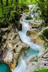 Boka Waterfall - Slovenia