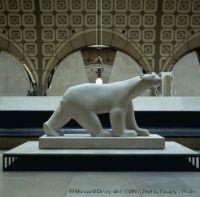 François Pompon, Polar Bear, Musée d'Orsay