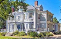 Gray + White Victorian Mansion