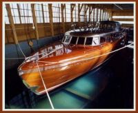 The Thunderbird, 55' Teak and Mahogany Stainless Steel Roof