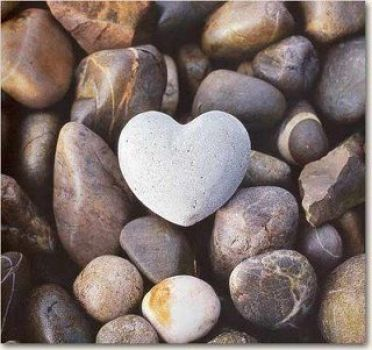 Lovely heart of stone ;-)