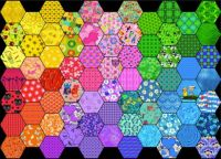 Rainbow Hexes!  (M)